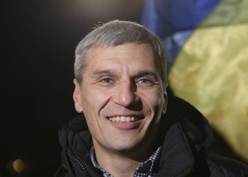 Руслан Кошулинський говорить, що не визнає результатів виборів / УНІАН
