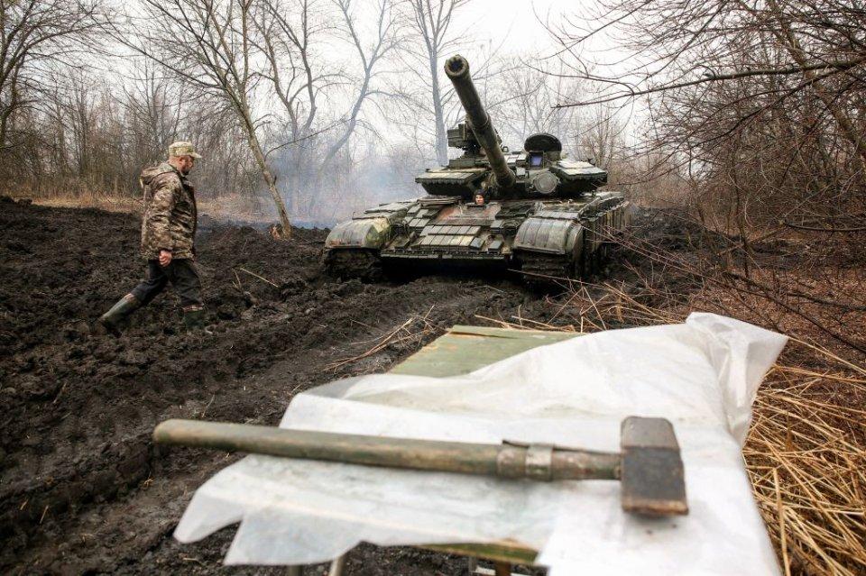 Принаймні на початку війни Україні доведеться покладатися виключно на власні сили / Getty images
