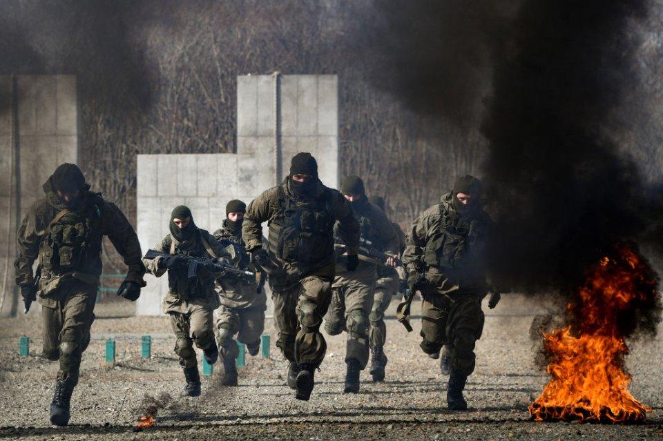 Від військових навчань до наступу — один крок / Getty images