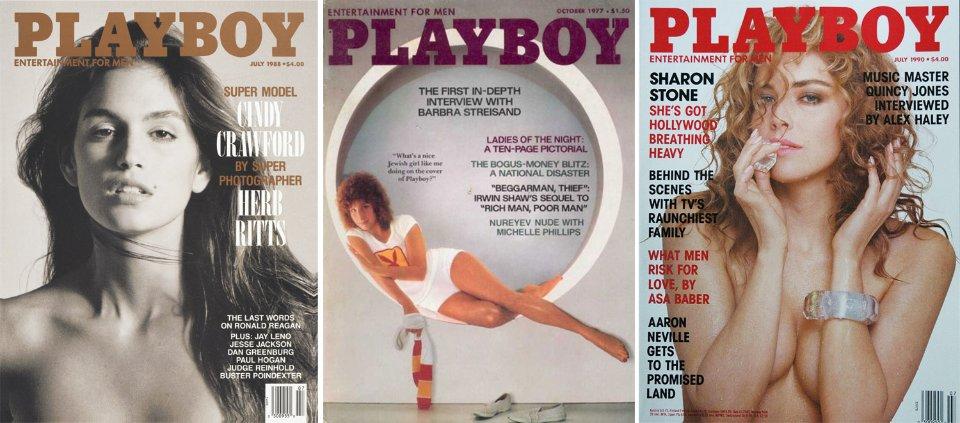 Зіркові обкладинки журналу Playboy. В головних ролях — Сінді Кроуфорд, Барбра Стрейзанд та Шерон Стоун
