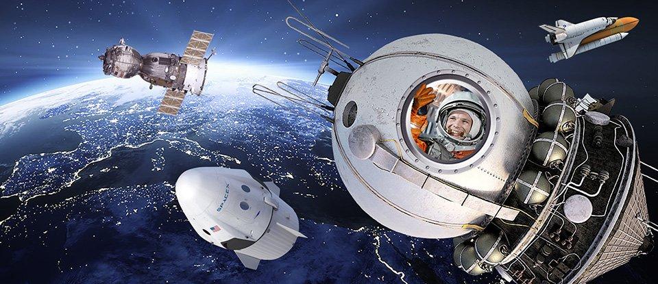 Їдьмо далі. Як еволюціонували космічні кораблі протягом 60 років