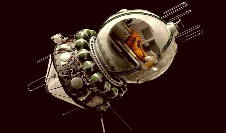 «Восток» — корабель, що доправив першу людину у космос