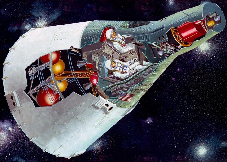 Gemini допоміг NASA здобути досвід, який знадобився під час місячної програми «Аполлон»