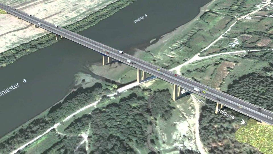 Приблизно так буде виглядати той самий міст через Дністер