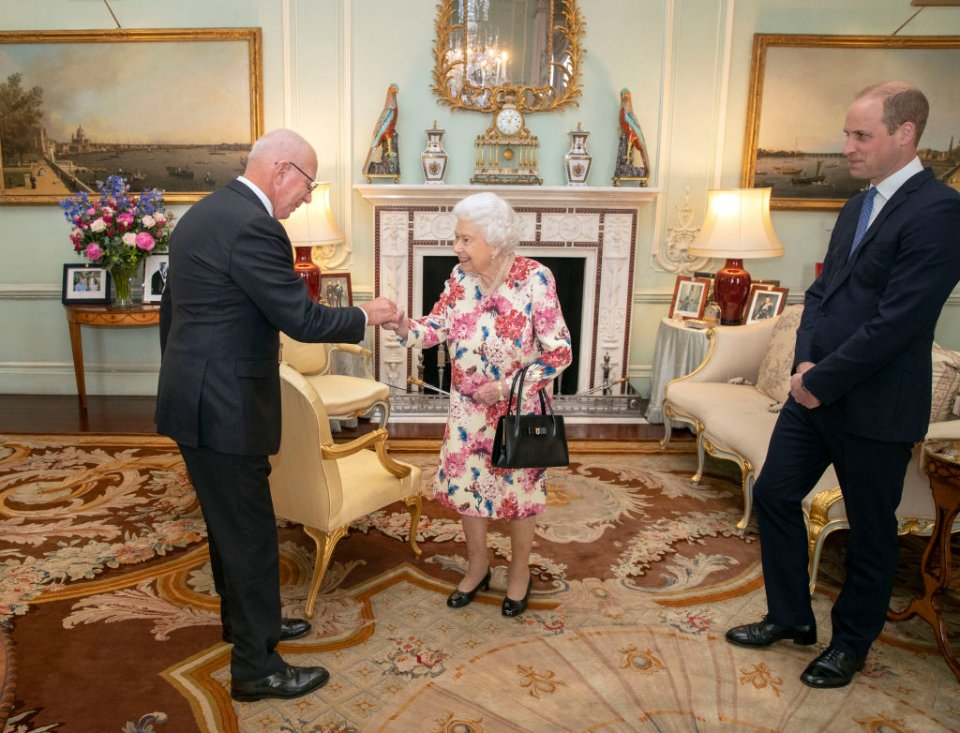 Королева приймає генерал-губернатора Австралії / Getty Images