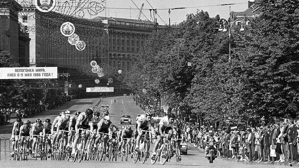 Велогонка 1986 року / Віктор Філоновіч