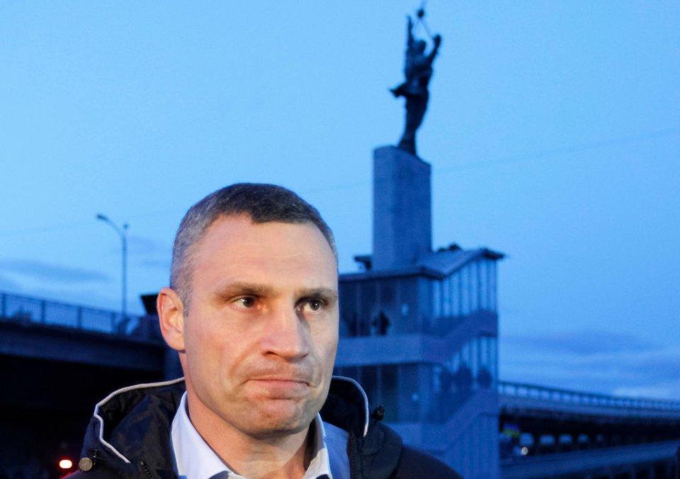 Віталій Клічко говорить, що буде працювати бодігардом для кожного інвестора у місто / Getty Images