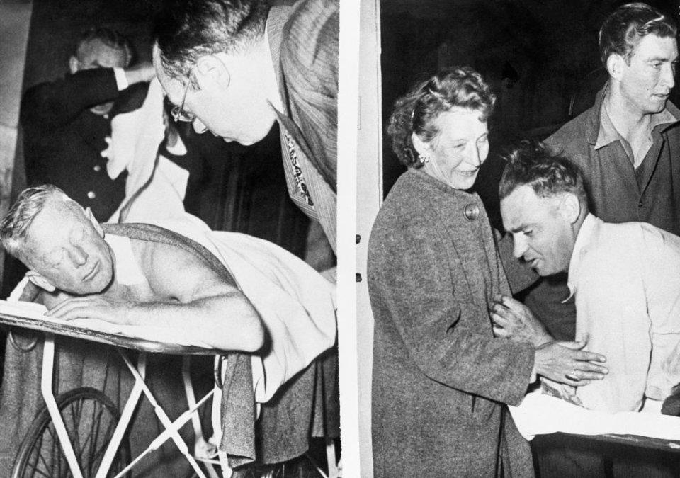 В очікуванні в лікарні морської піхоти — офіцери з відносно легкими пораненнями