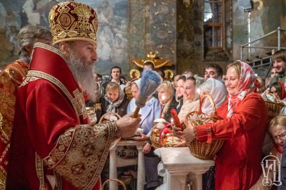 Великоднє богослужіння / УПЦ МП