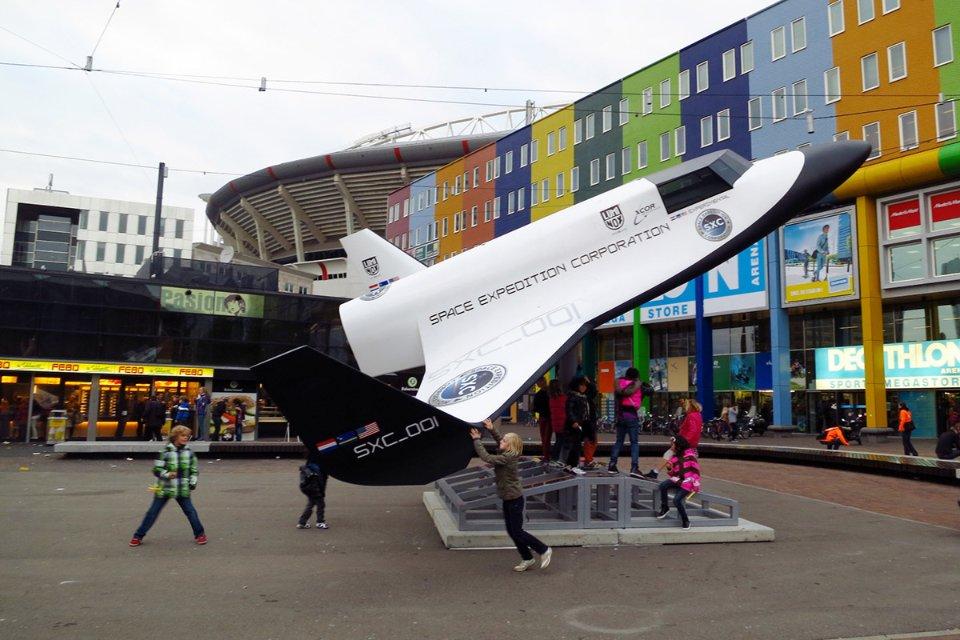 Макет ракетоплану XCOR Lynx