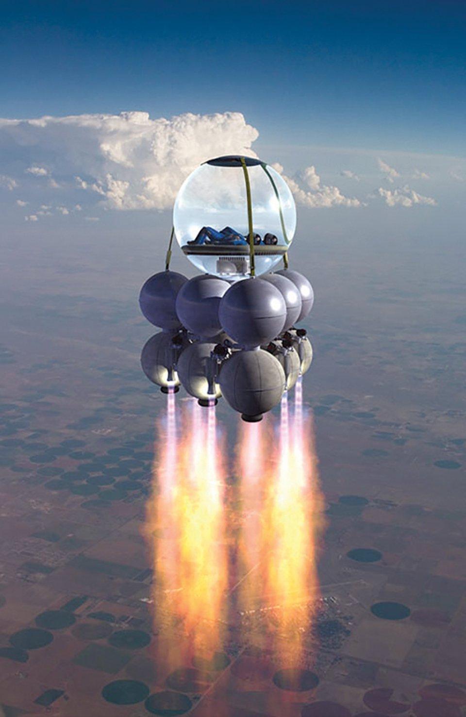 Космічний апарат Armadillo Aerospace