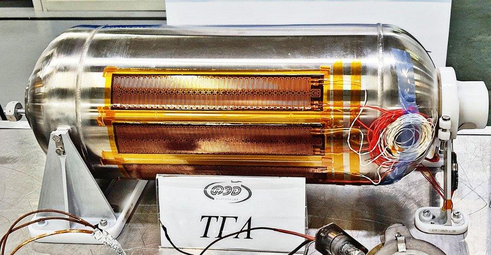 Такий пристрій для терморегуляції українського виробництва встановлюється на один з найбільших телекомунікаційних супутників в світі