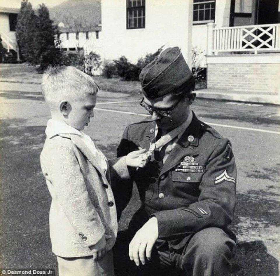 Десмонд зі своїм сином Десмондом-молодшим