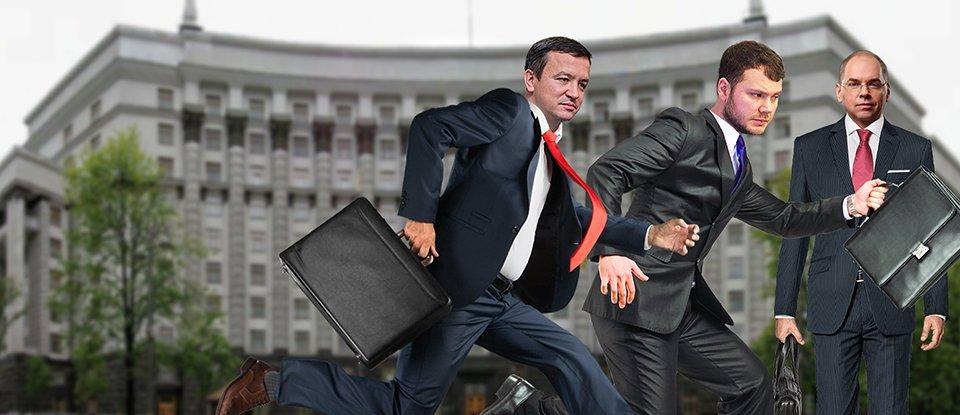 Ремонт Кабміну. Чому Рада звільнила трьох міністрів (оновлено)