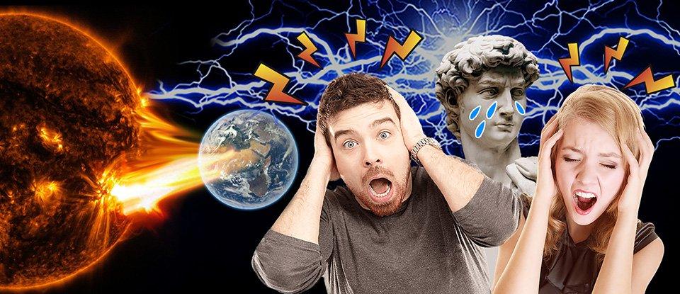 Штормове попередження. Чи справді геомагнітні бурі впливають на здоров'я