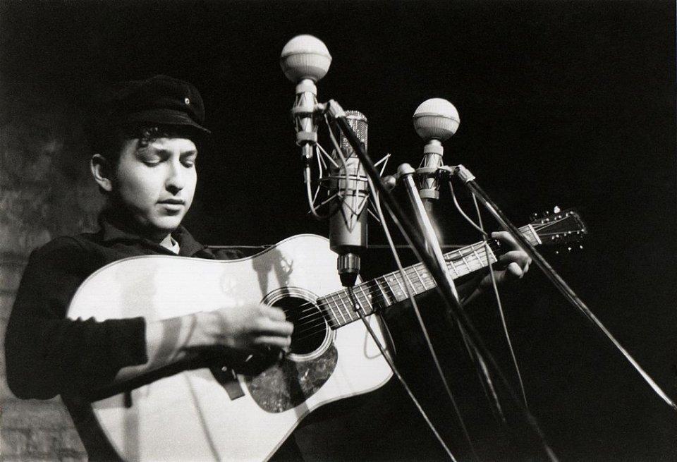 Боб Ділан у 1961 році / Getty Images