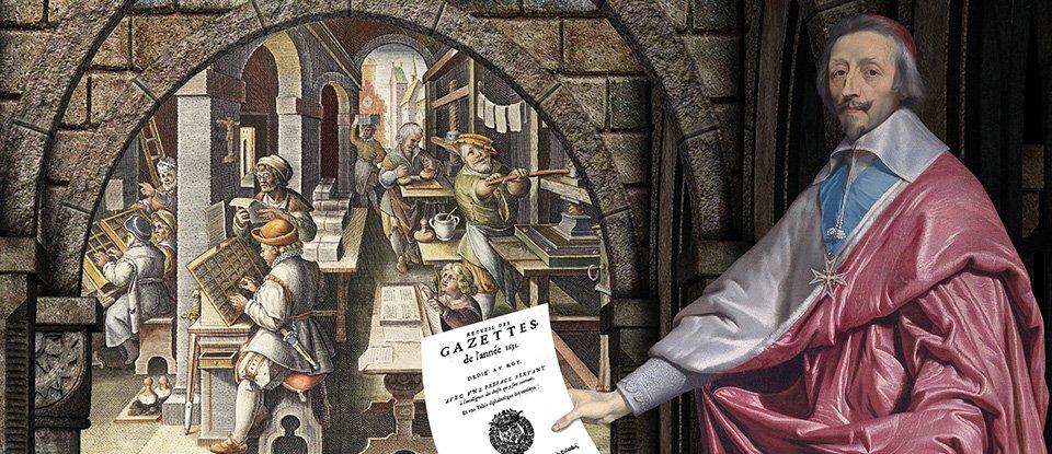 Новини для короля й не тільки. Як 390 років тому лікар і кардинал відкрили першу популярну газету