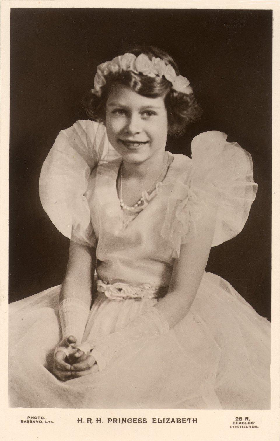 Принцеса Єлизавета у дев'ять років / Getty Images