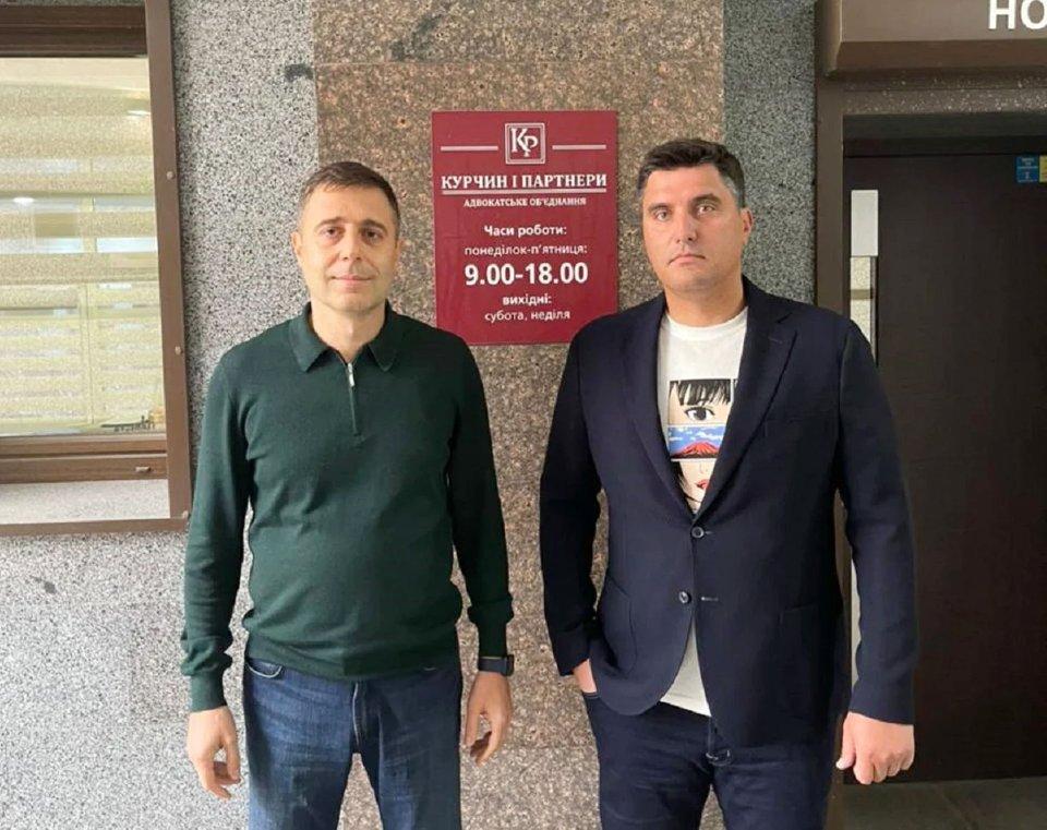Олег Курчин та Микола Левченко