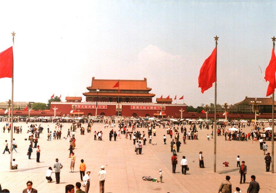 Площа Тяньаньмень до протестів