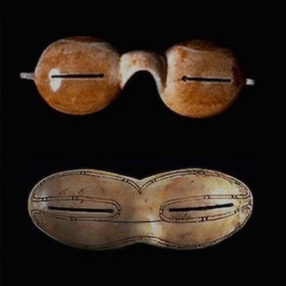 Такі штуки використовували ескімоси, щоб не осліпнути від сонця