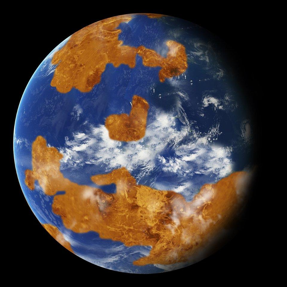 Так могла виглядати Венера у минулому, коли на ній існували океани