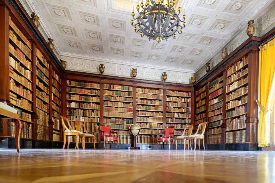 Бібліотека, в якій спробують домовитися Байден та Путін / Getty Images