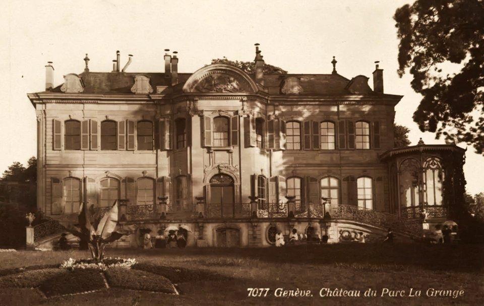 Вілла La Grange на початку ХХ століття