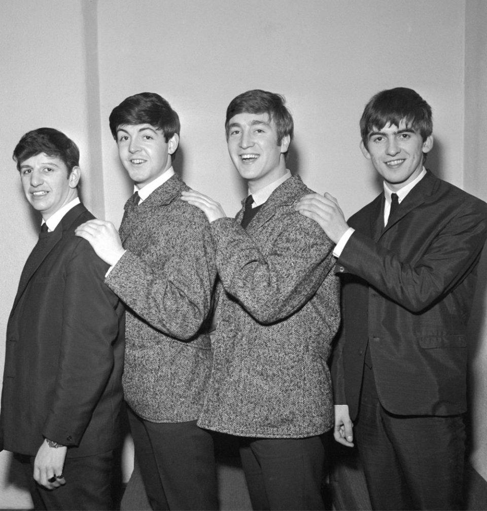 Рінго Старр, Пол Маккартні, Джон Леннон, Джордж Харрісон, 1962 год / Getty Images