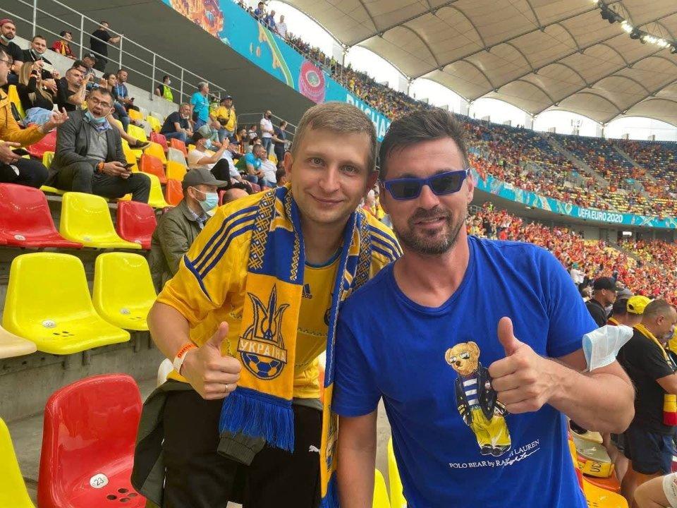 Костянтин разом з Артемом Мілевським