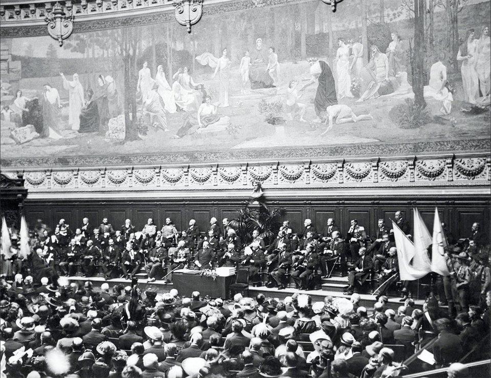 Святкування 20-річчя відновлення олімпійського руху, Сорбонна, 1914 рік / IOC