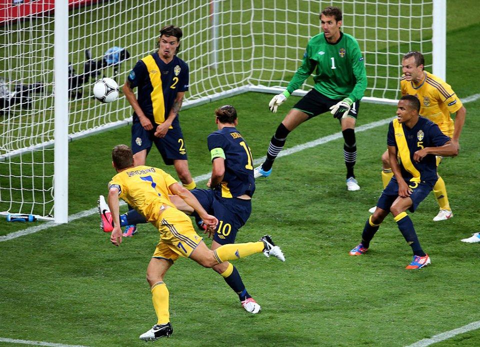 На Євро-2012 Шева забив шведам двічі / Getty Images