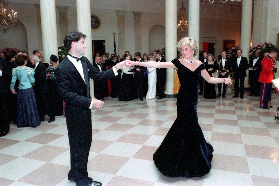 У танці з актором Джоном Траволтою, 1985 рік