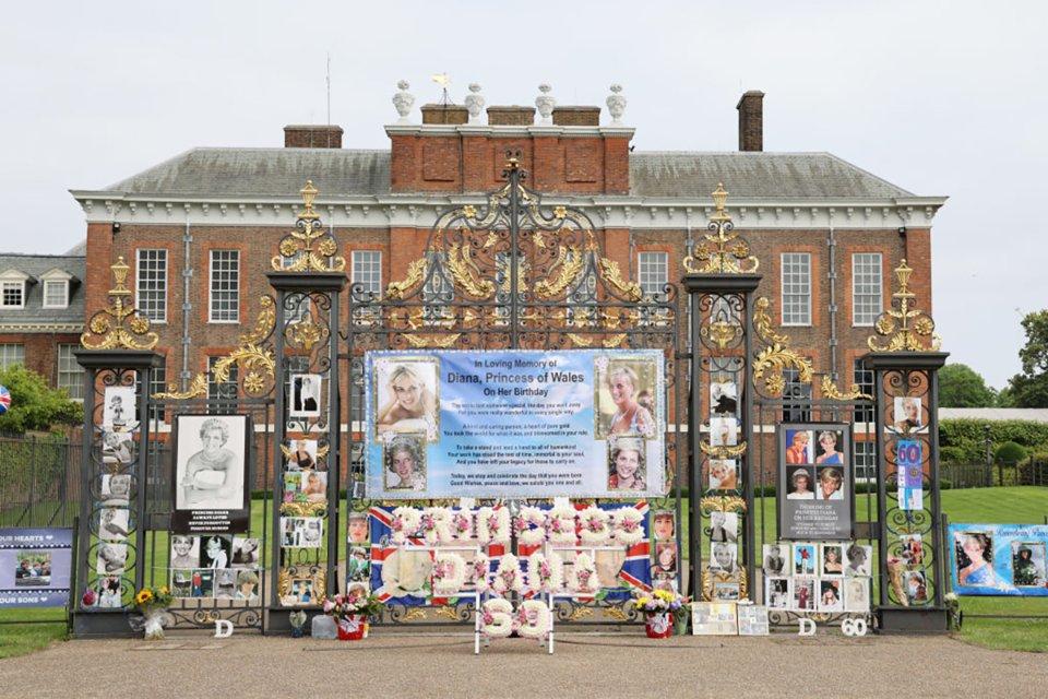 До 60-річчя з дня народження Діани у Лондоні їй відкривають пам'ятник / Getty Images