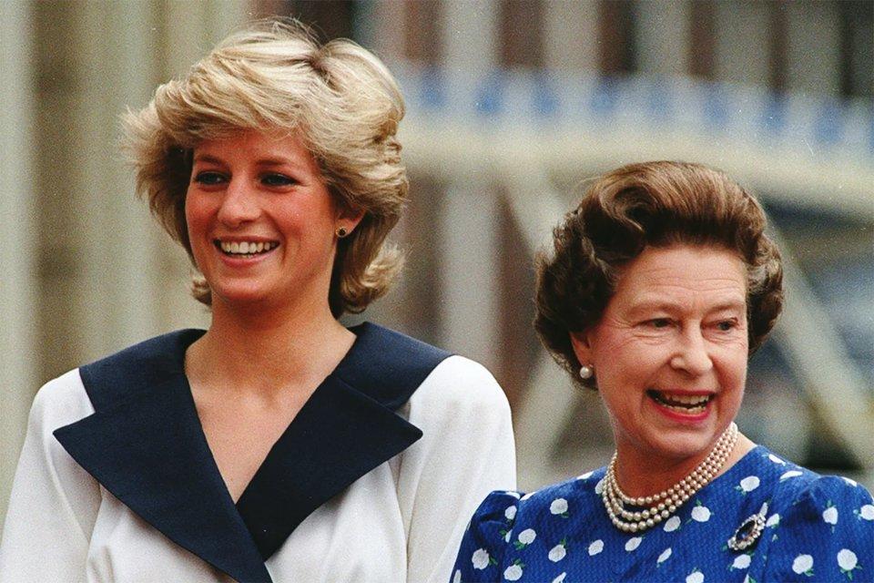 З королевою Єлизаветою