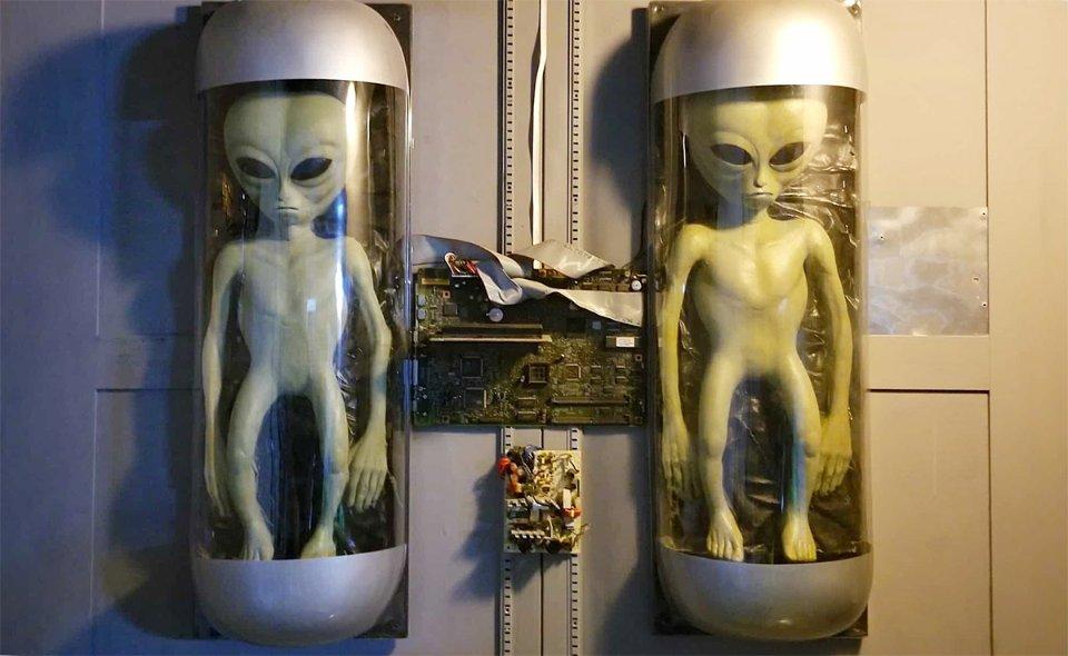 Експонати у музеї НЛО