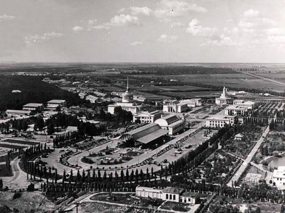 ВДНГ наприкінці 1950-х