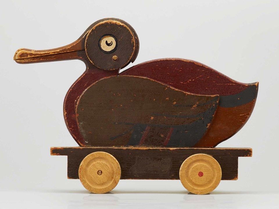 Дерев'яна качка, з якої Lego почала виробляти іграшки