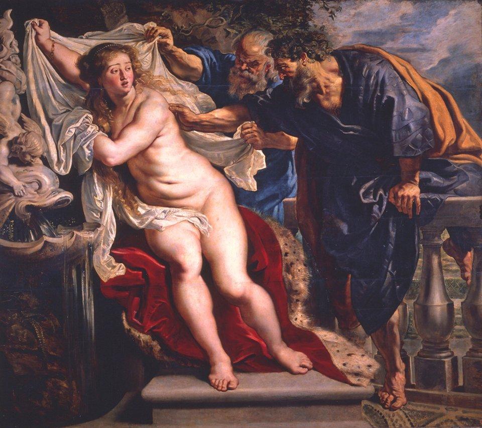 Сузанна і Старші. Пітер Пол Рубенс. 1607