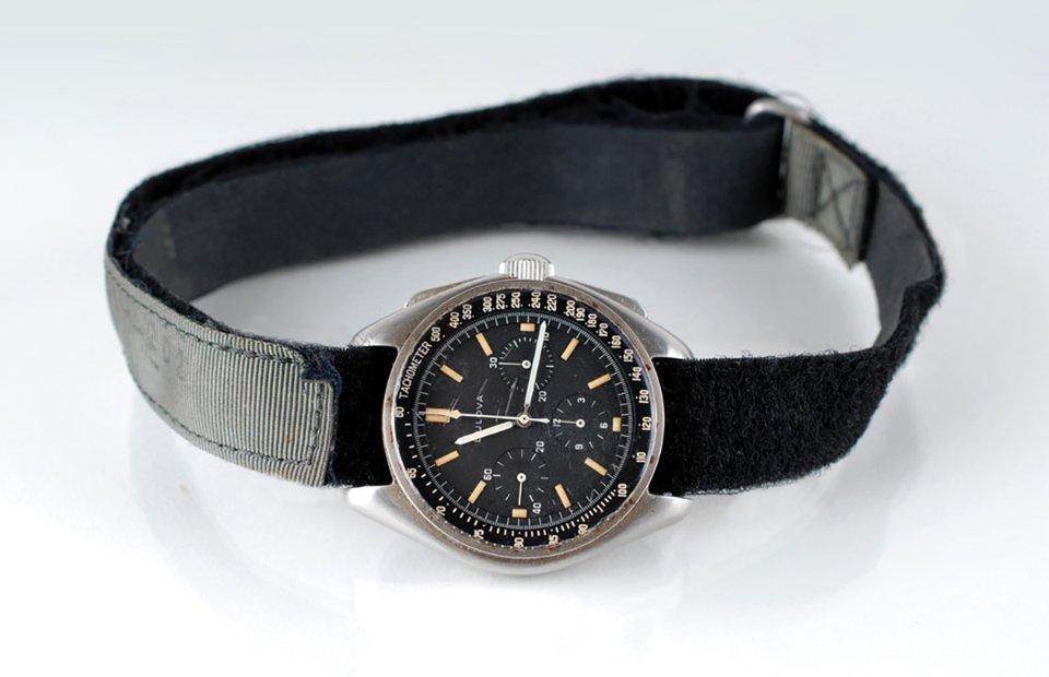 Наручний годинник Bulova, що належав командиру місії «Аполлон-15» Девіду Скотту