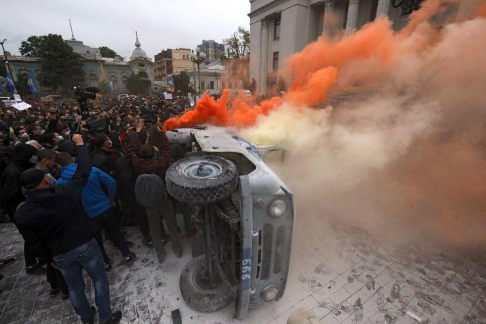 Протести проти Авакова / Getty Images