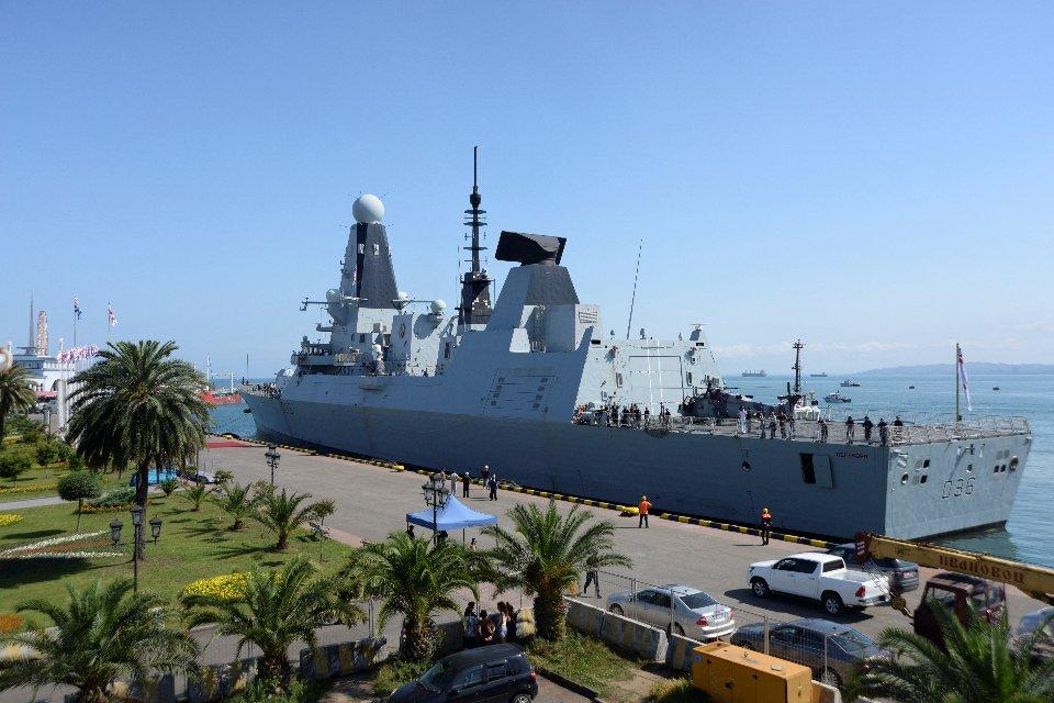 HMS Defender у Батумі / Getty Images