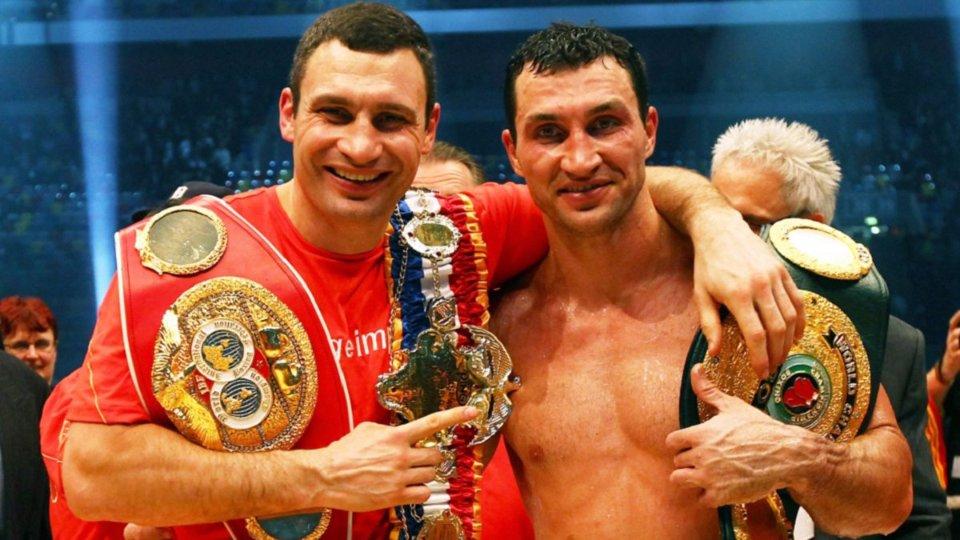 Віталій із Володимиром володіли усіма найпрестижнішими поясами у важкій вазі