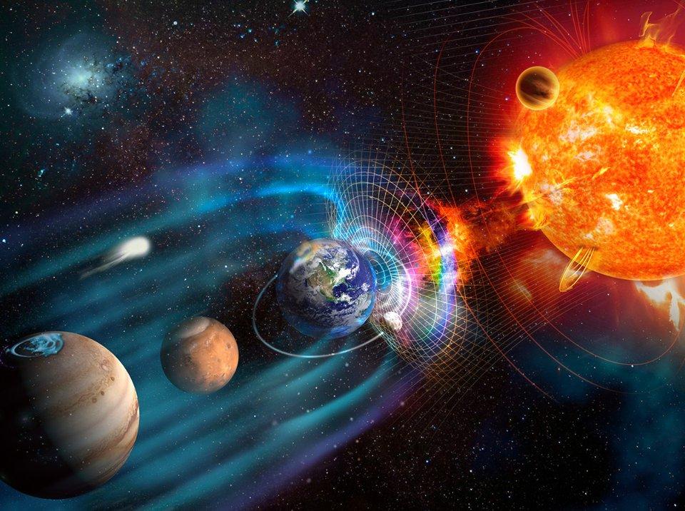 Без руху літосферних плит рідке зовнішнє ядро Землі охолоне достатньо, щоб зупинилися процеси, завдяки яким формується магнітне поле нашої планети / Getty Images