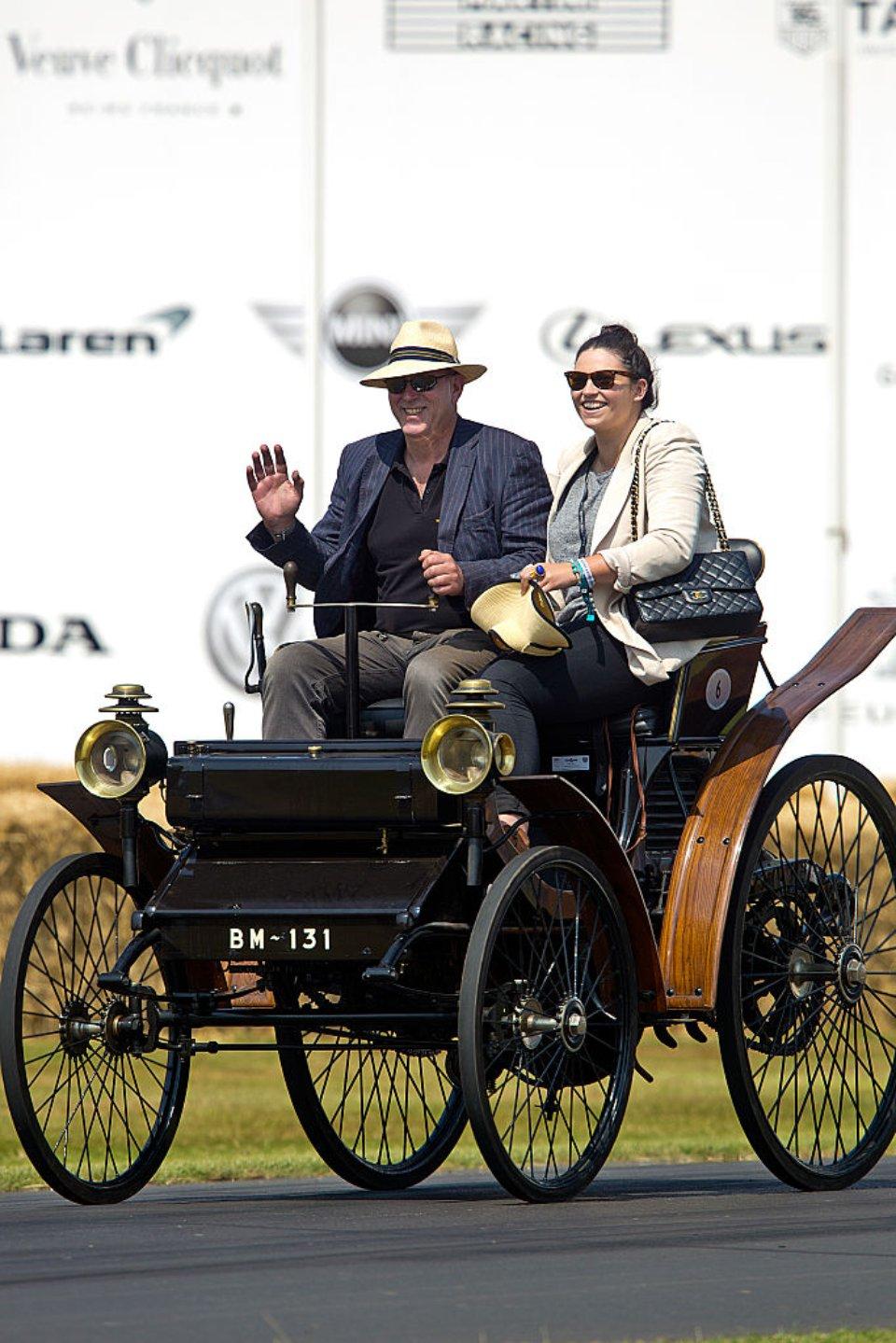 Peugeot на фестивалі Goodwood у 2013 році / Getty Images