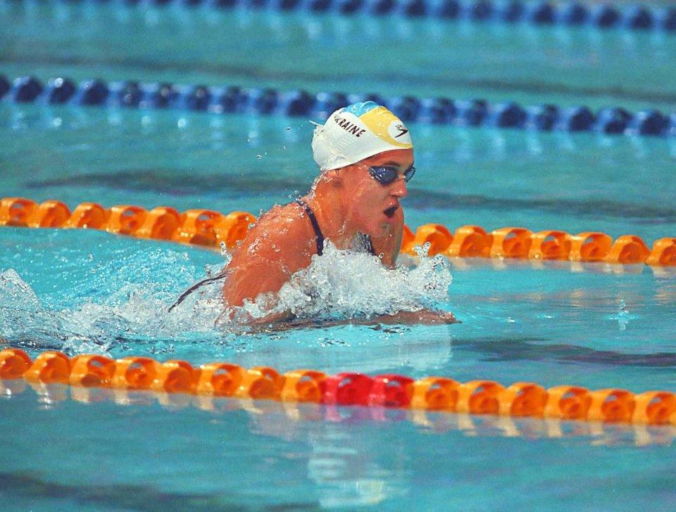Яна Клочкова на змаганнях з комплексного плавання в Сіднеї / УНІАН