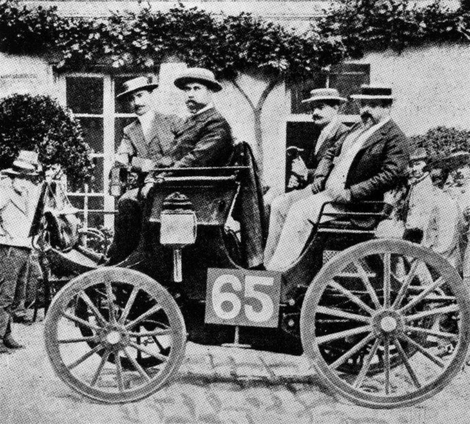 Альбер Леметр на Peugeot / Daimler