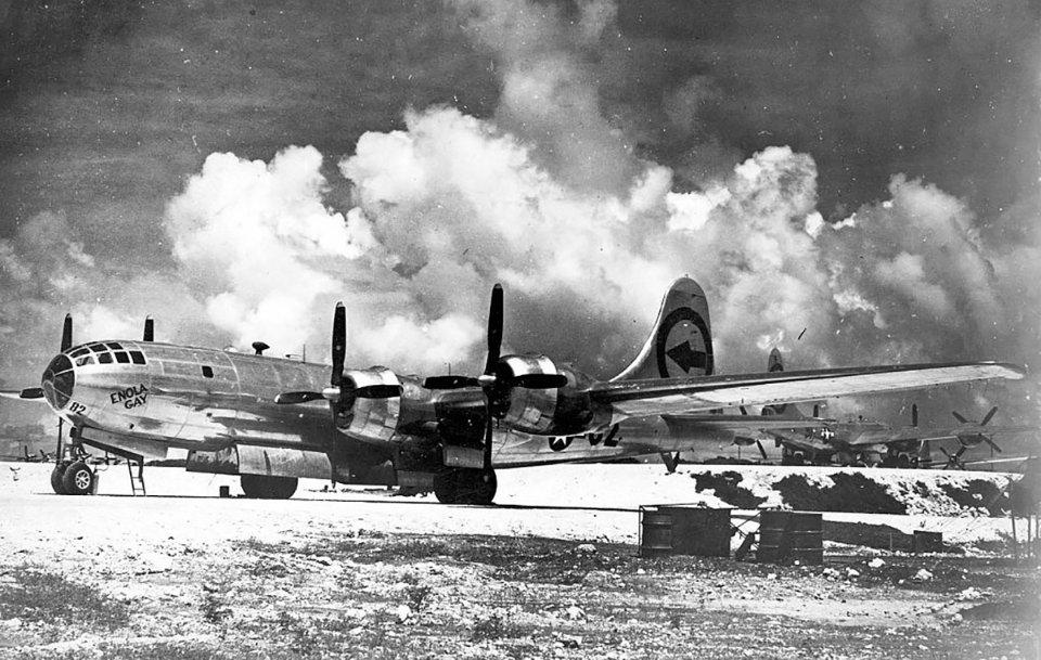 Літак, який доставив бомбу в Хіросіму / Getty Images