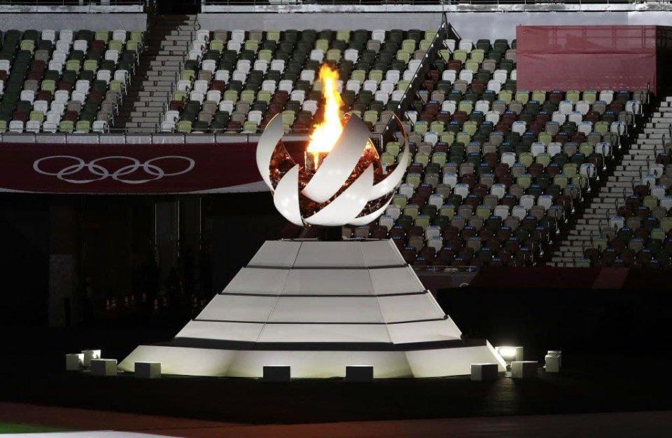 Олимпийский огонь, который за несколько минут погаснет / Getty Images