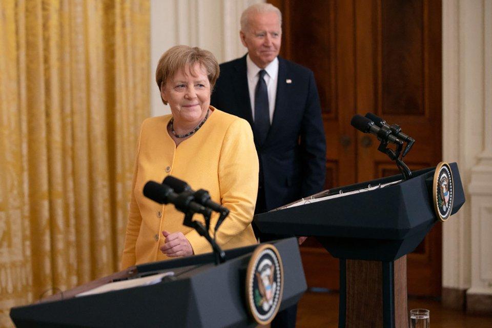 Ангела Меркель та Джо Байден / Getty Images